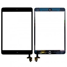 Apple iPad Mini 1 2 Digitizer Touch Screen 3M Adhesive w IC Home Flex Ribbon