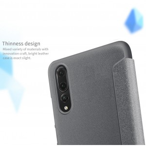 Huawei P20 Pro Nillkin Sparkle Leather Flip Case Cover