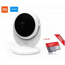Xiaomi Aqara Gateway Alarm Smart Home 180° CCTV IP Camera + 16GB Class 10 Sandisk
