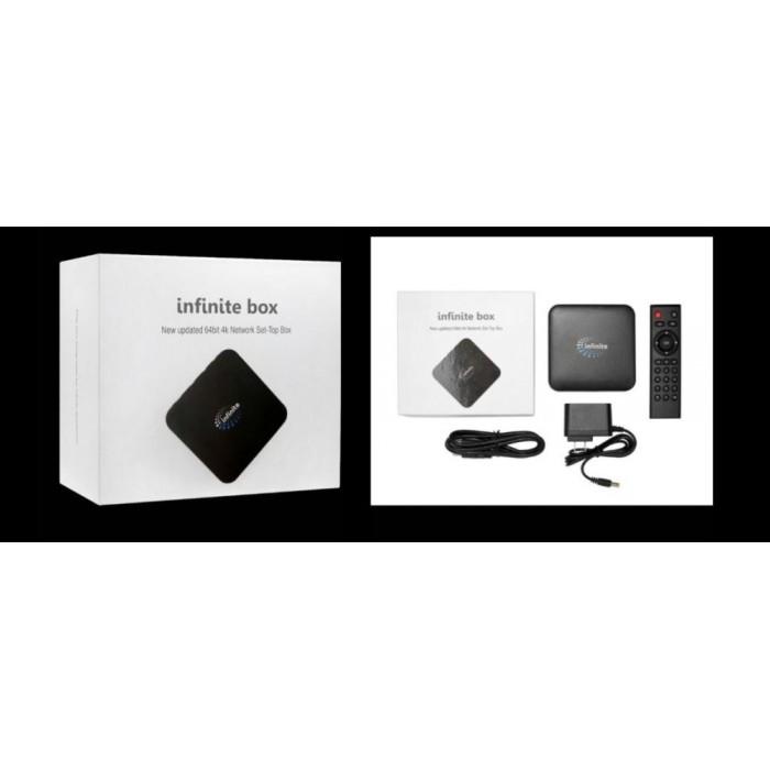 Infinite Android TV Box Lifetime Free IPTV MSIA 1 Yr Warranty