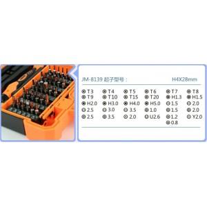 JAKEMY JM-8139 45in1 Multi Bit Screwdriver Kit Tweezers Phone Repair Tools