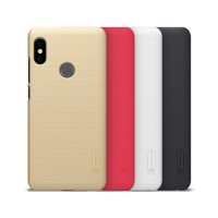 Redmi Note 5 Pro Nillkin Frosted Shield Cover Case with Screen Protector