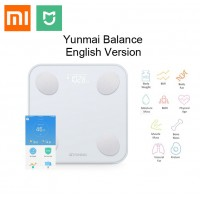 YUNMAI Balance Mini 2 Smart Body Fat Scale Weight LED Display ENGLISH 1 Yr Warranty