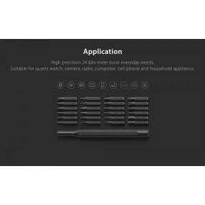 Xiaomi Wiha 24in1 Multi-purpose Precision Screwdriver Set Aluminium S2 Steel Repair Tools