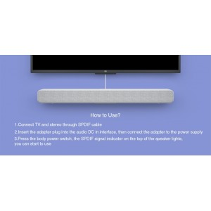 Xiaomi 33 Inch Mi TV Soundbar Home Theater Wired/ Wireless Bluetooth Audio Speaker Sound Bar