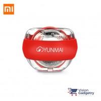 Xiaomi Mijia Yunmai LED Wrist Ball Wrist Trainer with Strap Stress Ball RED