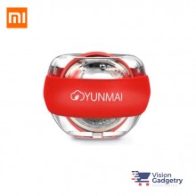 Xiaomi Mijia Yunmai LED Wrist Ball Wrist Trainer with Strap Stress Ball RED
