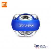 Xiaomi Mijia Yunmai LED Wrist Trainer with Strap Stress Ball BLUE