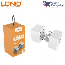 LDNIO Z4 Universal AU UK US EU Travel Adapter Plug Converter