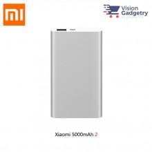 XiaoMi Mi Portable PowerBank Power Bank 5000mah V2 Ultra Slim PLM10ZM