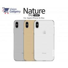 iPhone XS Max Nillkin Nature TPU Case Cover