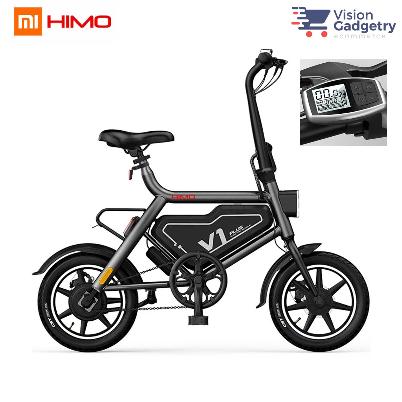 a058b7958ba Xiaomi Himo V1 Plus Electric Moped Scooter Smart Foldable E Bicycle Bi. ‹ ›