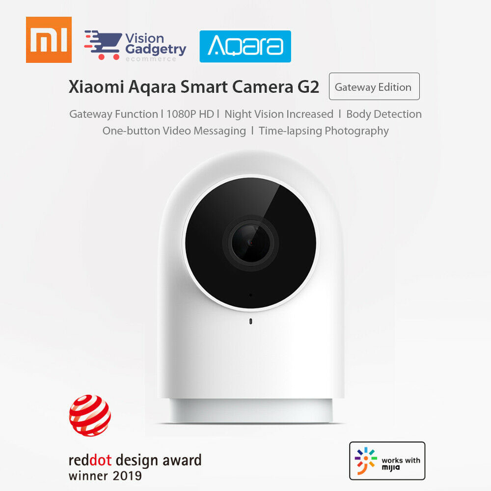 Xiaomi Aqara G2 CCTV IP Camera Alarm Smart Home 1080P Gateway Edition