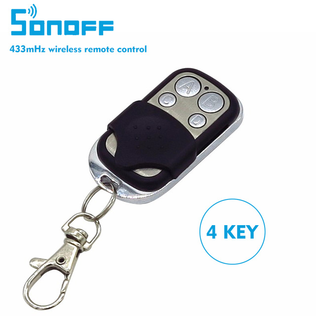 Sonoff Smart Home Wireless RF Remote 433mHz ABCD 4 Channel Buttons Swi