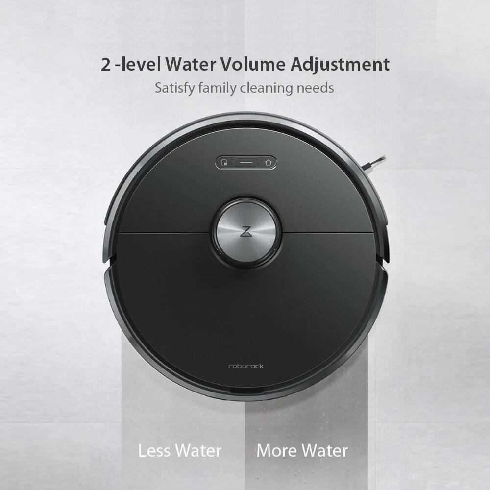 Xiaomi Roborock T6 Smart Robot Vacuum Cleaner Mop (Black)