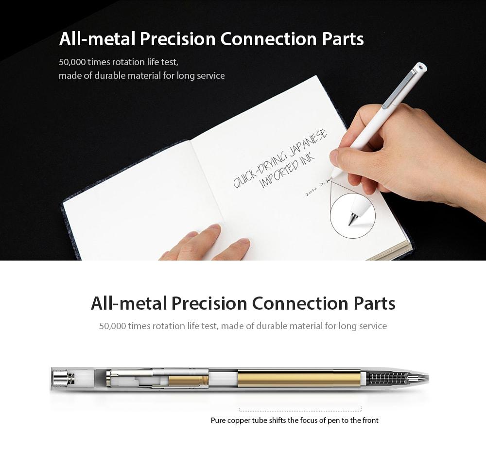 Xiaomi Mijia Mi Rollerball Sign Pen Gel 0 5mm White MJZXB01XM