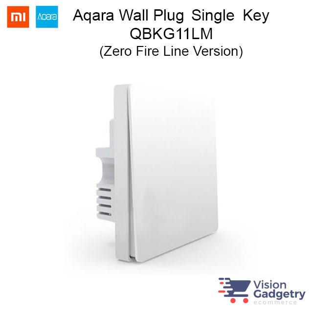 Xiaomi Mi Aqara Smart Home Wireless Switch Plug Single Gang ZigBee QBK