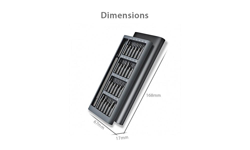 Xiaomi Wiha 24in1 Multi-purpose Precision Screwdriver Set Aluminium S2