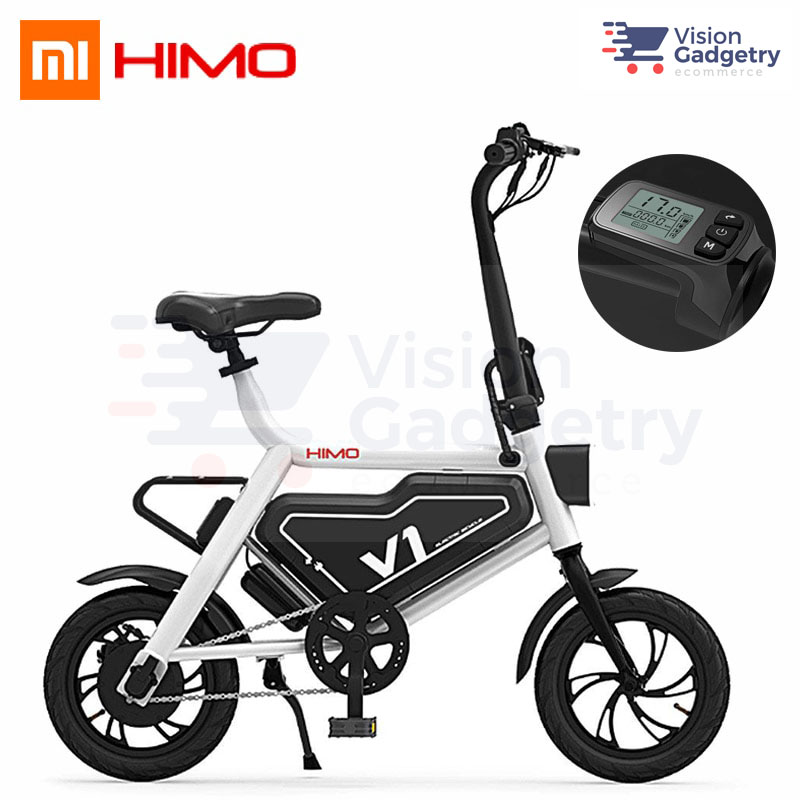 4149baace6a Xiaomi Himo V1 Electric Moped Scooter Smart Foldable E Bicycle Bike. ‹ ›