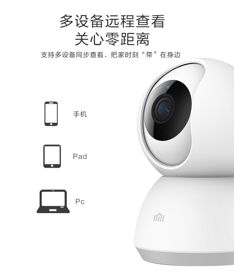 Xiaomi Imi Xiaobai Cctv Ip Camera 1080p 360 186 Youth Edition